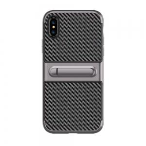 Stents with Full Body Protective and Resilient Shock Absorption Case for iPhone X -