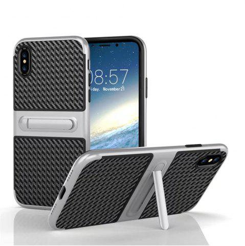 Cheap Stents with Full Body Protective and Resilient Shock Absorption Case for iPhone X