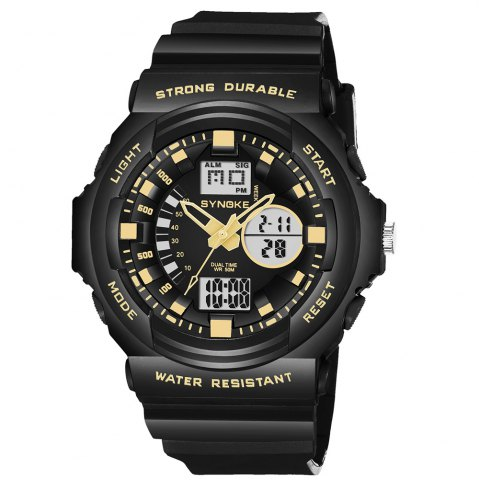 Best SYNOKE66866Outdoor Climbing Waterproof Electronic Watch Man