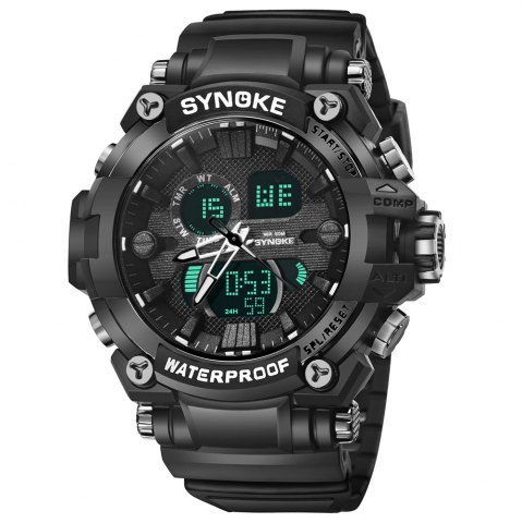 Discount SYNOKE 67356 Men Outdoor Sports Watch