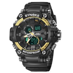 SYNOKE 67356 Men Outdoor Sports Watch -