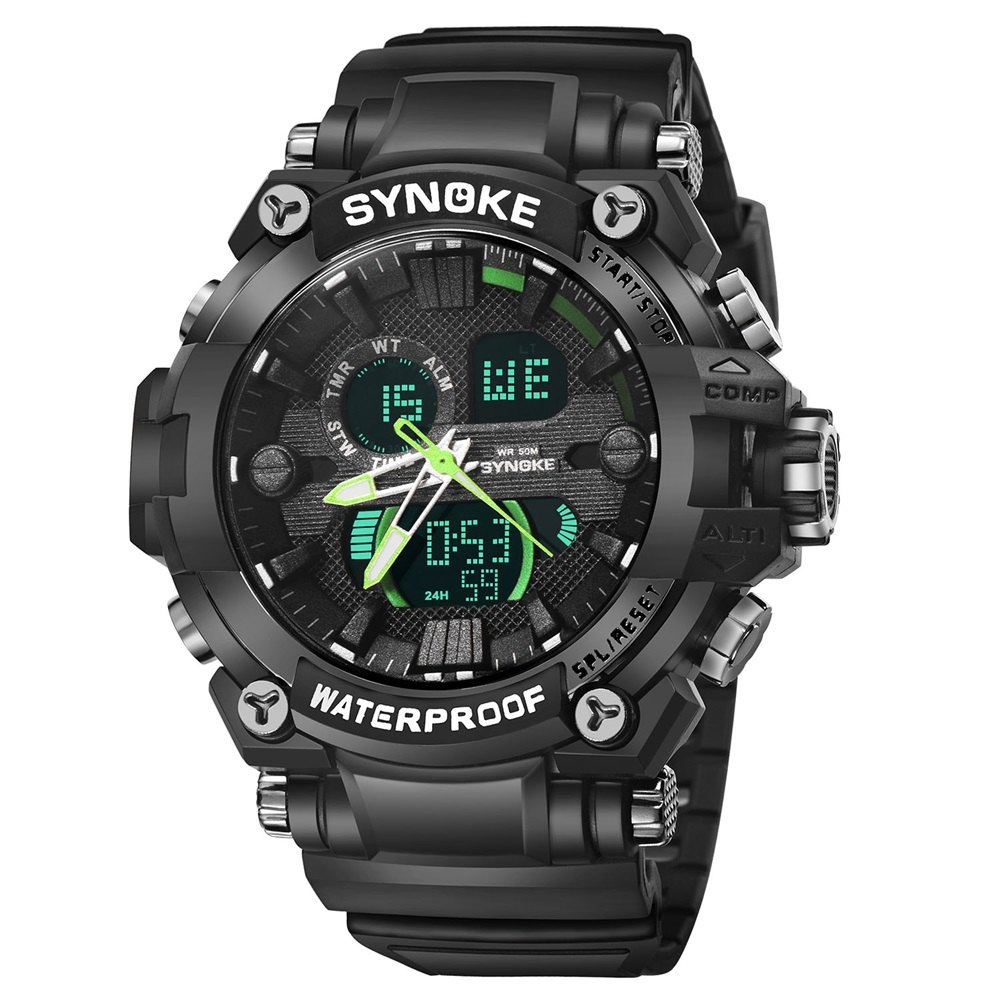 Buy SYNOKE 67356 Men Outdoor Sports Watch