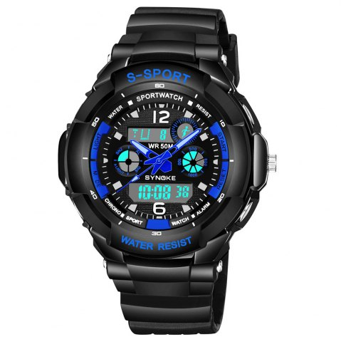 Latest SYNOKE 67316 Waterproof Men Sports Watch