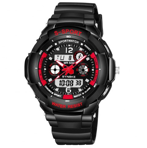 Fashion SYNOKE 67316 Waterproof Men Sports Watch