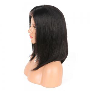 Modern Fairy Human Hair Lace Front Wig Bob Style -