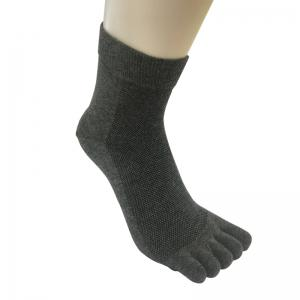 Antibacteria Men's Toe Socks -