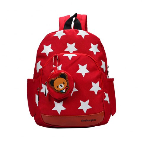 Cheap Cute Cartoon Five-pointed Star Kindergarten Bag