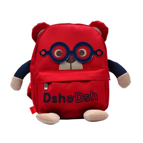 Outfit Korean Glasses Baby Bear Bag