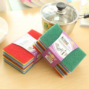 DIHE Scouring Pad Wash The Dishes Cleaner Multicolour 10PCS -