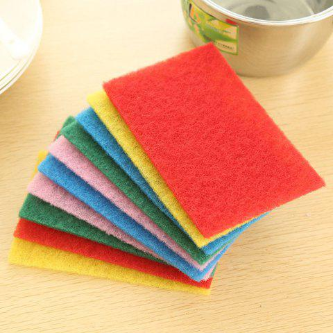 Shop DIHE Scouring Pad Wash The Dishes Cleaner Multicolour 10PCS
