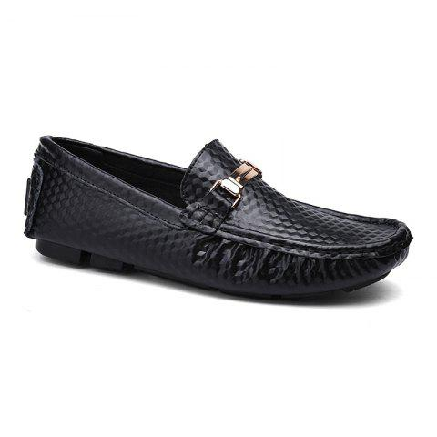 Hot European and American MenBusiness Leather Peas Shoes