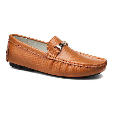 Online European and American MenBusiness Leather Peas Shoes