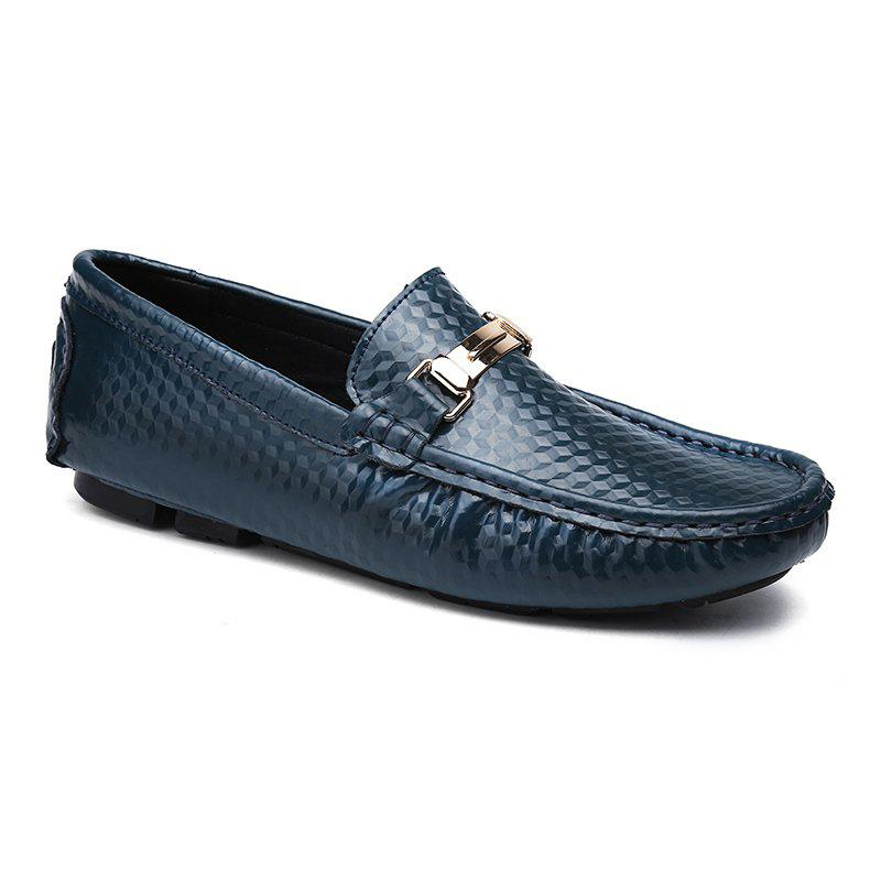 Trendy European and American MenBusiness Leather Peas Shoes