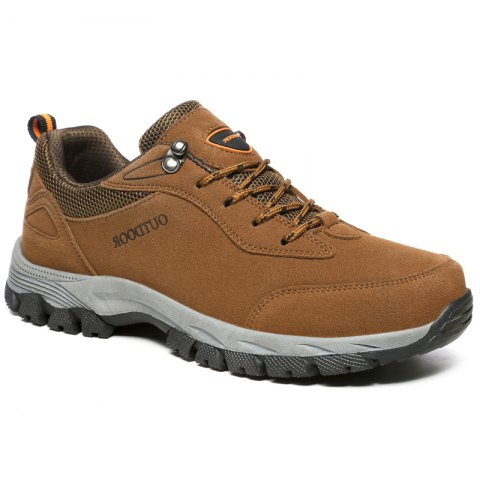 Fancy European and American Men's Large Outdoor Athletic  Shoes