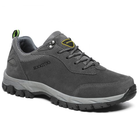 Trendy European and American Men's Large Outdoor Athletic  Shoes