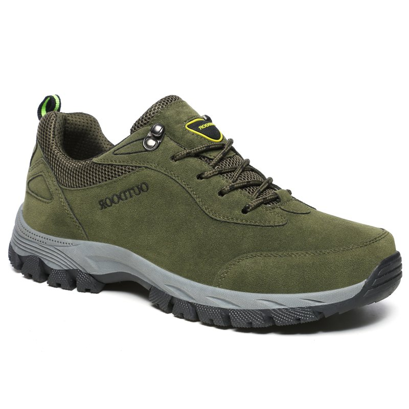 Discount European and American Men's Large Outdoor Athletic  Shoes