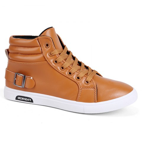 Latest British Leisure Leather High Boots