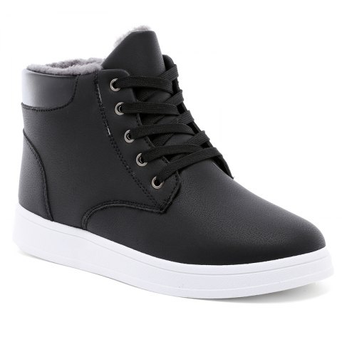 Shop Suede Warm Fashion Students' Boots for Men
