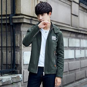 Korean Style Cotton Padded Men Fashion Casual Jacket -