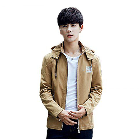 Shop Korean Style Cotton Padded Men Fashion Casual Jacket
