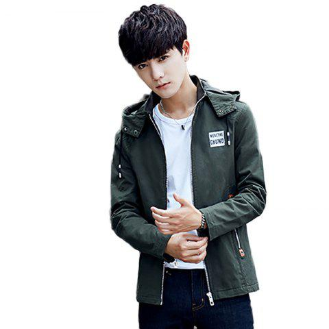 Hot Korean Style Cotton Padded Men Fashion Casual Jacket
