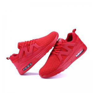 Men Solid Light Breathable Boost Shoes -