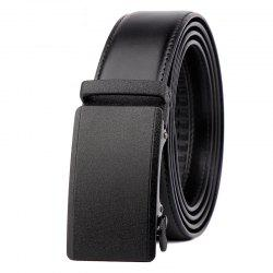 Men Leather Belt with Reversible Single Prong Buckle G89003 -