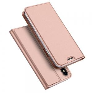 Luxury Leather Flip Wallet Book Cover for iPhone X Case -