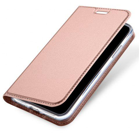 Cheap Luxury Leather Flip Wallet Book Cover for iPhone X Case