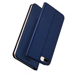 Luxury Leather Flip Wallet Book Cover for iPhone 8 Plus / 7 Plus Case -