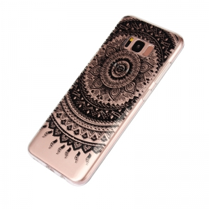 Translucent Lace TPU Case for Samsung Galaxy S8 Plus -