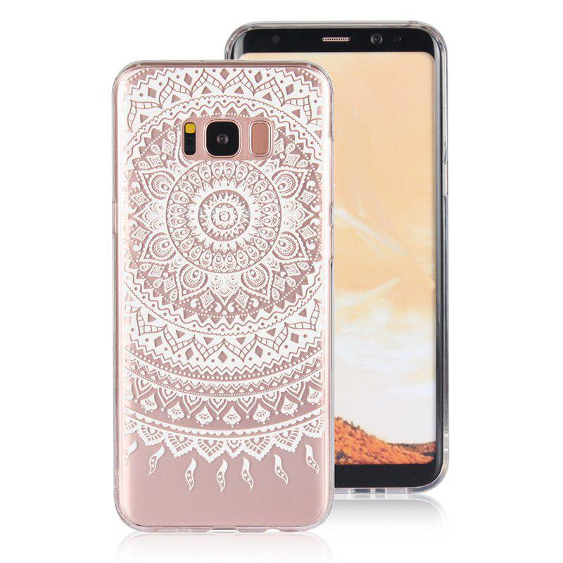Outfit Translucent Lace TPU Case for Samsung Galaxy S8 Plus