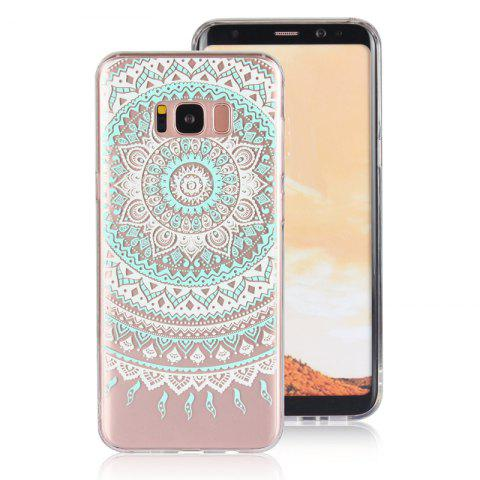 Fashion TPU Translucent Lace Case for Samsung Galaxy S8 Plus