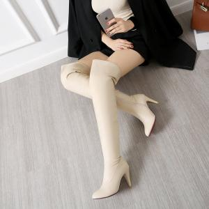 Women's Trend Above Knee Boots Sexy High Heel Boots -