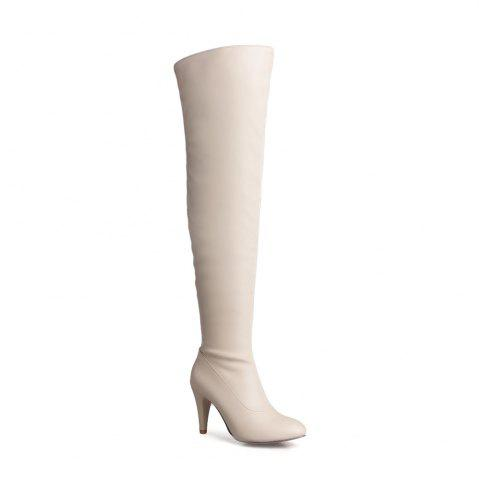Affordable Women's Trend Above Knee Boots Sexy High Heel Boots