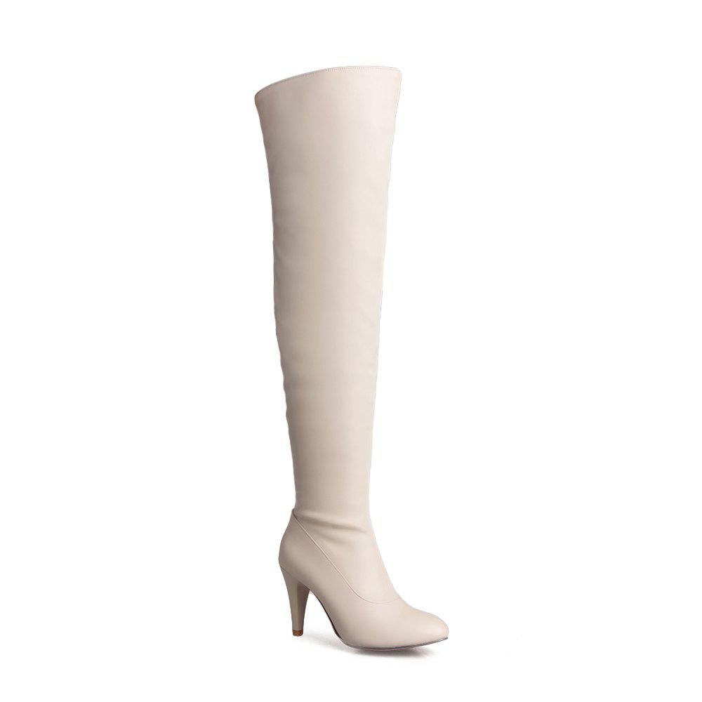 Discount Women's Trend Above Knee Boots Sexy High Heel Boots