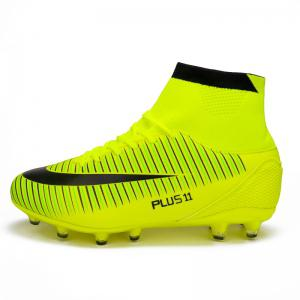 Мужская спортивная обувь Color Block Comfort Breathable Leisure Football Shoes -