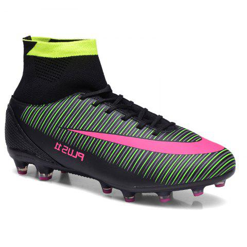 Outfit Men's Sports Shoes Color Block Comfort Breathable Leisure Football Shoes