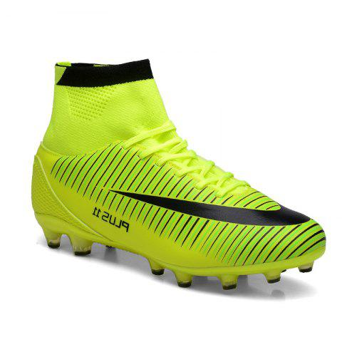 Affordable Men's Sports Shoes Color Block Comfort Breathable Leisure Football Shoes
