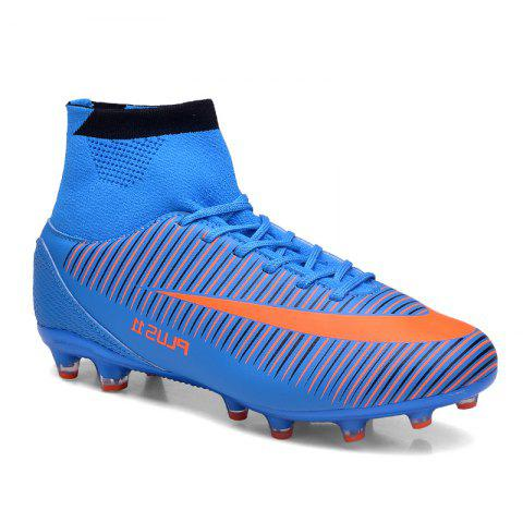 New Men's Sports Shoes Color Block Comfort Breathable Leisure Football Shoes