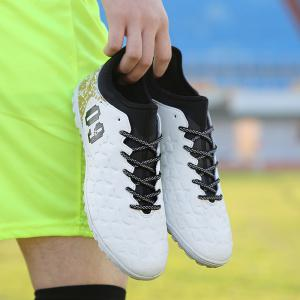 Men's Football Shoes High Quality Lacing Skidproof Sole Cozy Shoes -