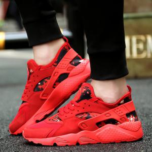 Men's New Matte Sneakers Male Wild Tide Shoes Youth Trend Casual Shoes -