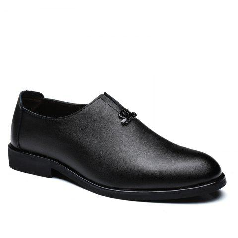 Store Men's  Shoes Business Durable Pointed Toe Formal Shoes