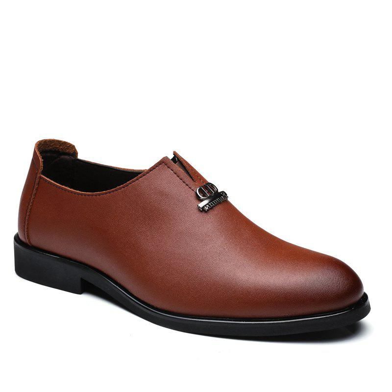 Sale Men's  Shoes Business Durable Pointed Toe Formal Shoes