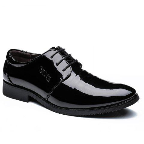 Shops Men's Stylish Business Glossy Shoes