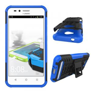 Double Protection Anti-Chute Coque Arrière pour Huawei Y311 -