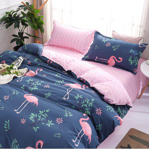 Latest Fashion Bird Pattern Personalized Polyester Bedding Set