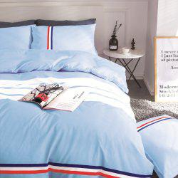 Fashion Active Color Stripe Standard Bedding Set -