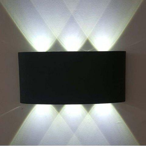 Fashion Jiawen 6W Aluminum LED Wall Light Bedside Bedroom Porch Stair Lamp AC 85 - 265V