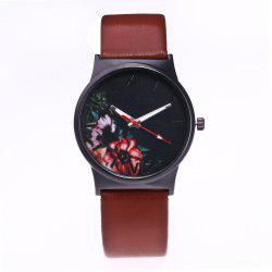 Fashion Women Flower Quartz Watch -